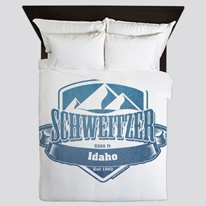 Schweitzer Idaho Ski Resort 1 Queen Duvet